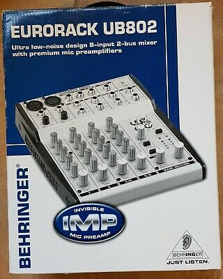 £95 • Buy Behringer 4-channel Mixer Eurorack UB802 Very Good Condition, Boxed