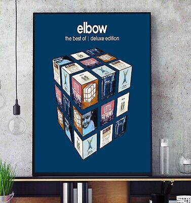 £11.99 • Buy The Best Of (Deluxe) (by Elbow) Album Cover Poster Professional Grade Print Z133