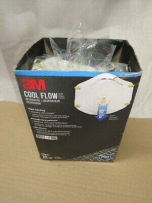 $ CDN29.71 • Buy 3 M8511 Paint Sanding Valved With Cool Flow OPEN BOX 10-pack  EXP: 2025