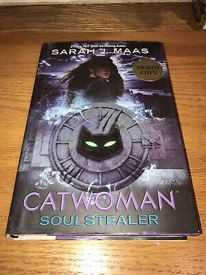 $12.50 • Buy DC Icons Ser.: Catwoman : Soulstealer By Sarah J. Maas (signed 2018, Hardcover)