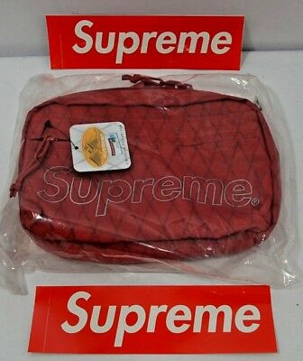 $ CDN213.15 • Buy Supreme New York Shoulder Bag Red FW18 NEW In Hand 100% Authentic