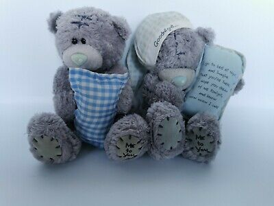 £9.99 • Buy Me To You - Tatty Ted - 2 Me To You Bears Goodnight And Pillow - ME TO YOU