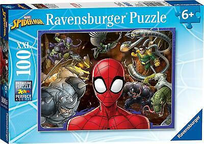 £13.95 • Buy Marvel Spiderman Ravensburger XXL 100 Pieces Jigsaw Puzzle Game Gift For Kids