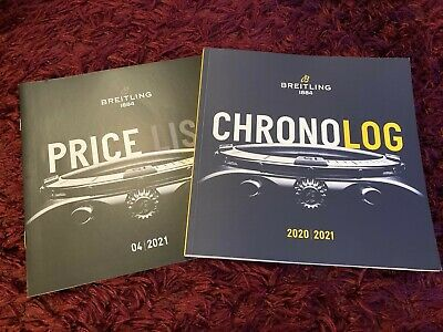 £11.99 • Buy Breitling 2020 / 2021 Watch Catalogue - 200 Pages - UK Issue + Price List