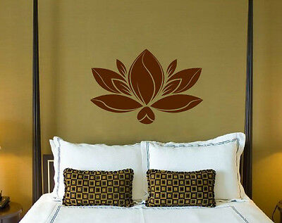 £24.45 • Buy Lotus - Water Lily Vinyl Stickers Wall Decorations Mural Decal High Quality NEW