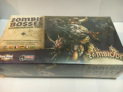 AU59.95 • Buy Zombicide. Zombie Bosses. 3 Abomination Pack. Unopened, Still Sealed.