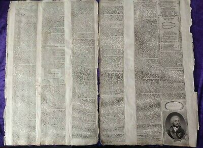 £174.99 • Buy Original 1805 Newspaper Reports Of Trafalgar And Admiral Nelsons Death