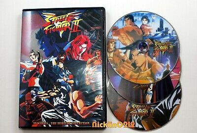 £16.54 • Buy Opened Box Street Fighter 2 V Complete TV 29 Episodes Anime DVD English