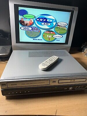 £139.99 • Buy Copy VHS To DVD Recorder Combi Sanyo DVR-V100E Video Cassette And DVD Player
