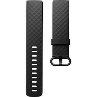 $ CDN18.87 • Buy Genuine Fitbit Charge 4 & Charge 3 BAND ONLY Classic Black SMALL 2 Piece