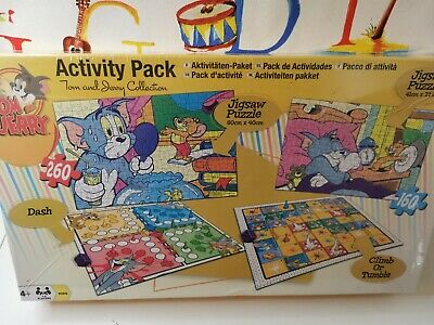 £18.99 • Buy Tom And Jerry Games Activity Set Puzzle And Game COMPENDIUM SEALED