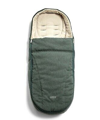 £34.99 • Buy Mamas And Papas INKY TEAL Green Cold Weather Universal Footmuff Cosytoes Ocarro