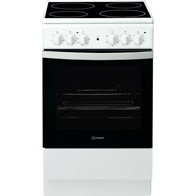 £209.99 • Buy Indesit IS5V4KHW/UK 50cm Electric Cooker - Electric Oven/Grill, Ceramic Hob