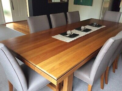 AU1750 • Buy Custom Built Dining Table With Matching Chairs