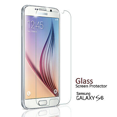 $ CDN3.05 • Buy For Samsung Galaxy S6 Screen Protector 100% Genuine Tempered Glass Guard Cover