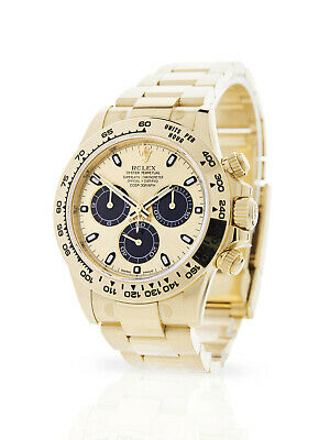 $ CDN67897.15 • Buy 2019 Rolex Daytona 116508 Yellow Gold Partially Stickered Box & Papers Rolex Wty