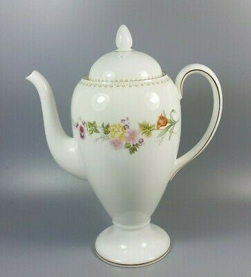 £29.99 • Buy Wedgwood Mirabelle R4537 Coffee Pot (perfect)