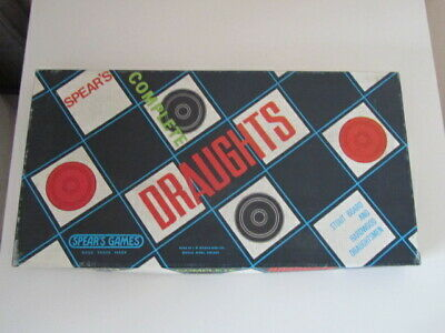 £5.95 • Buy Vgc Vintage Spears Games Draughts  Board Game 1970s