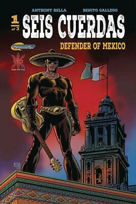 $6.99 • Buy Seis Cuerdas Defender Of Mexico #1 (of 3) (mr) Source Point Press Comic Book