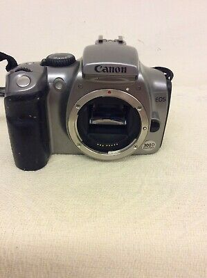 £49.99 • Buy Silver Canon EOS 300D Digital SLR No Tested