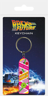 £3.45 • Buy KEYRING Back To The Future (Hoverboard) RUBBER KEYCHAIN OFFICIAL NEW