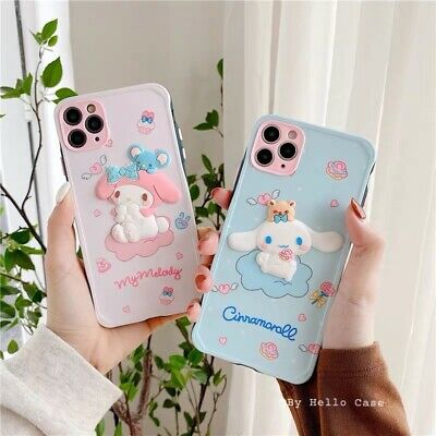 AU13.63 • Buy Cute Case For IPhone 12 11 Pro Max XS XR 7 8 Japanese Cute Cartoon 3D Case Cover