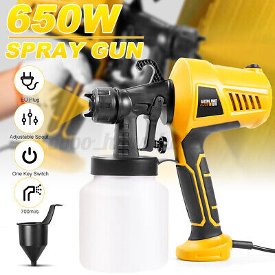 £31.36 • Buy 650W Electric Paint Sprayer Handheld Gun Airless Spray  Fence Shed Wall