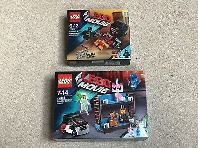 $ CDN94.45 • Buy The LEGO Movie 70818 Double-Decker Couch & 70817 Batman + Angry Kitty + FREE P&P