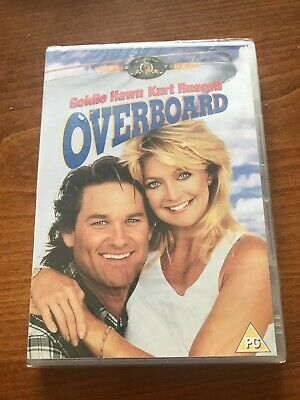 £2 • Buy Overboard DVD - Kurt Russell, Goldie Hawn - New & Sealed
