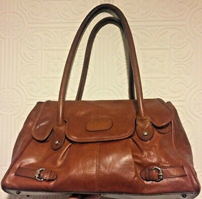 £14.99 • Buy M&S Autograph Tan Leather Tote Bag