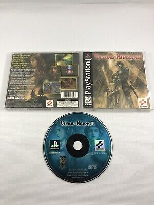 £106.19 • Buy Vandal-Hearts II (Sony PlayStation 1, 1999) PS1 Black Label Complete CIB Game