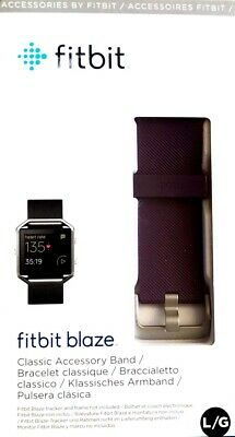 AU29.99 • Buy Fitbit Blaze Fitness Watch Replacement Band - Purple