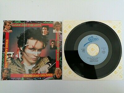 £20.99 • Buy Adam Ant / Ants - Stand & Deliver / Beat My Guest - Japan Japanese 7  Vinyl Rare