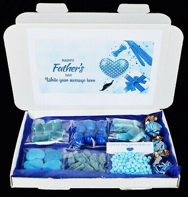 £4.49 • Buy Personalised Fathers Day Gift Million Sweets Hamper For Dad Daddy Grandad
