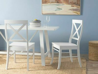 AU129.95 • Buy Mocka Hamptons Dining Chair - White Dining | Dining And Office Chairs