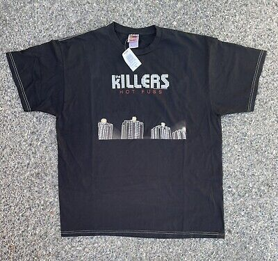 £53.12 • Buy NOS The Killers Hot Fuss 2004 T Shirt Size XL Dead Stock NWT Band Tee