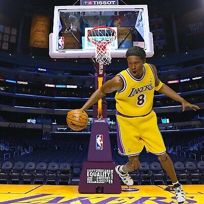 $29.99 • Buy 1/6 Lakers Hoop Backdrop 15 X15  - Ideal For 1/6 Kobe Bryant Lebron Shaquille