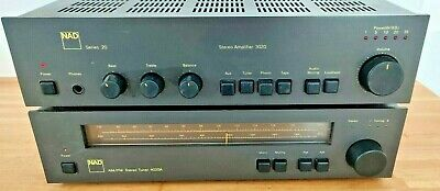 £239.50 • Buy NAD 3020 Amplifier Series 20 And NAD 4020A Stereo Tuner AM/FM Hi-Fi Separates