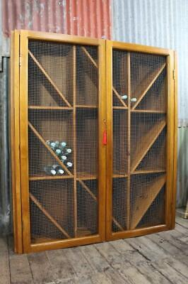 AU795 • Buy A Large 1.6 X 1.8 M Wine Cabinet Holds Approx 350 Bottles Rack Cupboard Storage