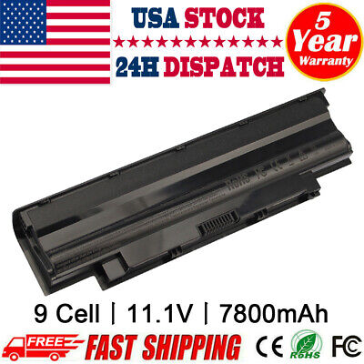 $22.99 • Buy 9Cell Battery J1KND For DELL Inspiron 3520 3420 M5030 N5110 N5050 N4010 N7110 CC