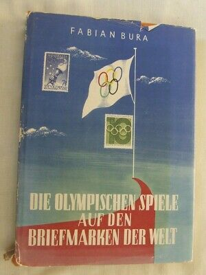 £13.99 • Buy CATALOGUE OLYMPIC GAMES STAMPS OF THE WORLD (GERMAN) By F BURA, 1960 VGC