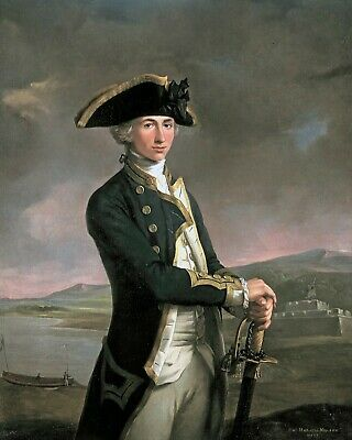 £9.43 • Buy  Admiral Horatio Nelson Young Portrait Painting British Navy Canvas Art Print