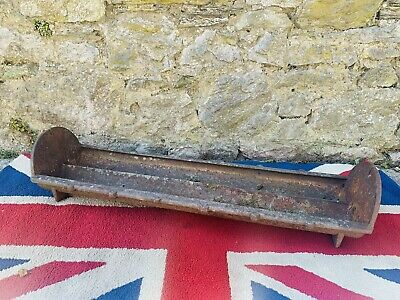 £150 • Buy Victorian Double Cast Iron Pig Or Chicken Feeding Trough By W.T Twose Of Devon