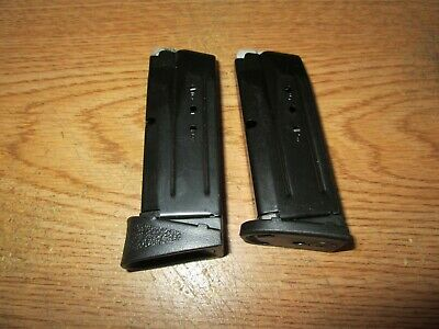 $51.99 • Buy Two Smith & Wesson M&P 9 Compact 9MM 10 Round Magazine's OEM S&W SW 9C