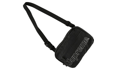 $ CDN236.55 • Buy Supreme Shoulder Bag FW18 Black O/S BRAND NEW DS IN HAND READY TO SHIP