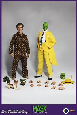 $550 • Buy 1/6 Asmus Toys The Mask Stanley Ipkiss  Action Figure DLX (2 Figures)