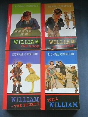 £0.99 • Buy Richmal Crompton: 'Just' William: The Good / In Trouble / The Fourth / Still