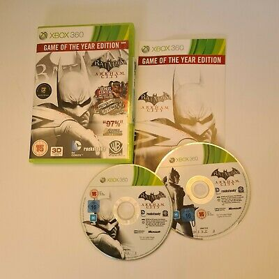 £4.99 • Buy Batman: Arkham City GOTY Game Of The Year Edition - Xbox 360 - Complete