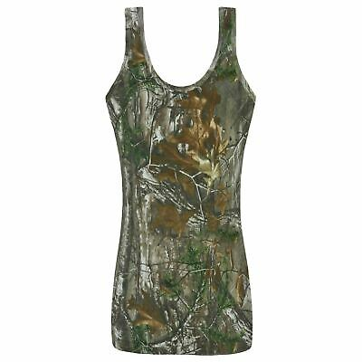 £6.99 • Buy Mens Camouflage Vest Sleeveless Jungle Muscle Tops Tree Forest Gym Shirts Army