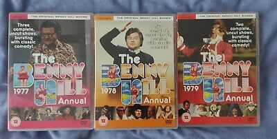 £9.99 • Buy Benny Hill: The Benny Hill Annual - 1977, 1978 & 1979 DVDs